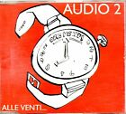 AUDIO 2 CD single 1 traccia PROMO 1995 ALLE VENTI made in Italy PDU MINA