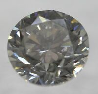 Certified 0.50 Carat H Color SI2 Round Brilliant Natural Loose Diamond 4.96mm