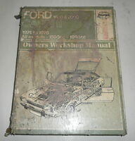 Classic Car Ford Capri II Haynes Workshop Repair Manual Book  1974 to 1976