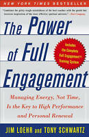 The Power of Full Engagement By Jim Loehr Paperback