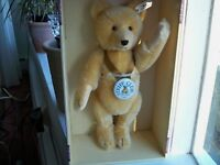 STEIFF  BABY BEAR  1946  BLOND  35  CLUB 1995 / 1996