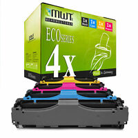 4x MWT ECO Toner XXL für HP Color LaserJet Pro MFP M-476-nw MFP M-476-dn