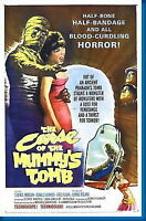 150968 Curse Of The Mummys Tomb Movie FRAMED CANVAS PRINT Toile