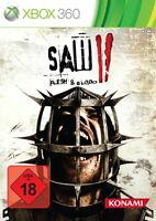 Xbox 360 / X360 Spiel - Saw II (2) Flesh & Blood (mit OVP)(USK18)(PAL)