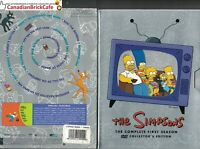 The Simpsons - The Complete First Season (DVD, 2001, 3-Disc Set, Collectors Edit