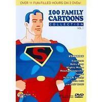 100 Family Cartoons: Vol. 1 (DVD, 2008)