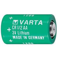 1/2 AA 3V VARTA Lithium Battery  6127 CR 1/2AA L14250