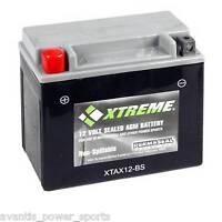 BATTERY  Xtreme AGM Permaseal XTA12-BS