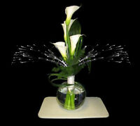 Glowbys Sparkle Light Fiber Optic Floral Glowby flower arrangement centerpiece