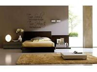 """TWO SOULS TWO HEARTS Home Bedroom Wall Art Decal 36"""""""