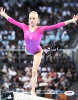 Nastia Liukin Signed 8x10 Olympic GOLD Photo PSA/DNA