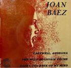 JOAN BAEZ farewell, angelina/the wild mountain EP VG++