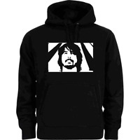 DAVE GROHL (FOO FIGHTERS) ROCK MUSIC HOODIE