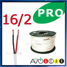25 ft 16 Gauge Speaker Cable Wire FT4 UL 16 AWG CL3 NEW