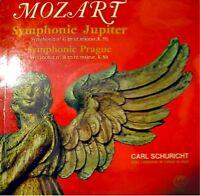 CARL SCHURICHT symphonie jupiter/prague MOZART LP EX++