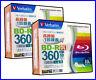 20 Verbatim Blu ray 50GB Dual Layer BD-R 4x Inkjet Printable Bluray Blank Disk