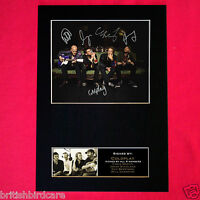 COLDPLAY Signed Autograph Mounted Photo Repro A4 PRINT 190