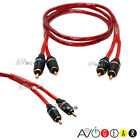 1M Monster 2-RCA-to-2-RCA Stereo Audio Cable 3 feet New