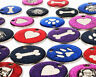 Large Glitter Pet ID Dog Tag 32mm Disc Engraved Free