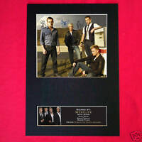 WESTLIFE Signed Autograph Mounted Photo Repro A4 Print 188