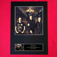 THE SCRIPT Signed Autograph Mounted Photo Repro A4 Print 113