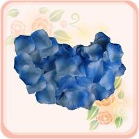 1000 light blue&blue wedding decoration silk rose petals flowers 1st class mail