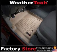 WeatherTech DigitalFit FloorLiner - 2002-2008 Dodge Ram Truck Quad Cab - Tan