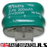 VARTA MEMPAC- 55620302059  2V/200H 2.4v NI-MH BACK UP BATTERY PCB Mount