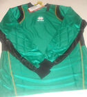 maillot d'entrainement gardien football taille L errea vert noir newport