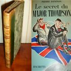 LE SECRET DU MAJOR THOMSON Pierre Daninos Dessins de Walter Goetz