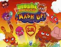 MOSHI MONSTERS MASH UP SERIES 2 MIRROR FOIL CARD PICK YOUR OWN
