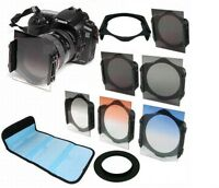ND2/ND4/ND8 Graduated Filter Kit + 67mm Ring adapter For Cokin p series