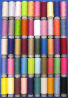 50 High Quality Reels of Polyester Quilting & Sewing Thread Cottons