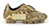 PREMIER GOLD BOOT FOOTBALL RESIN TROPHY MAN OF THE MATCH A1305 FREE ENGRAVING