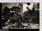 1414a* Gemona del Friuli Udine, giardino col Castello, viagg.1954 - vedi