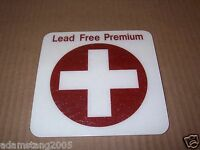 NEW GILBARCO MARCONI LEAD FREE PREMIUM SIGN DISPLAY DECAL