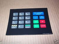 NEW GILBARCO MARCONI T18724-1046 PIN PAD KEYPAD DISPLAY SIGN DECAL
