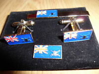 20 Maritime Cufflink / Tie slide/ lapel pin set, 17 Port Officer on board