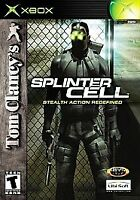 Game: Tom Clancy's Splinter Cell - Microsoft Xbox - Excellent Condition