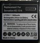 Two brand new 1800mAh Battery for HTC Sensation/G14 T-Mobile Sensation 4G