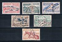CO - TIMBRE DE FRANCE N° 960 à 965 oblitérés