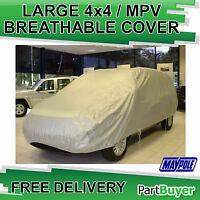 LARGE MPV / 4 X 4 DE LUXE HEVY DUTY WATER RESISTANT CAR VAN COVER MKAYPOLPE MP94