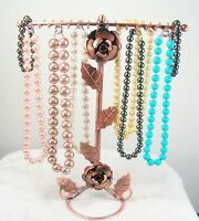 1pc Copper Necklace Bracelet Jewelry Display Rack Holder Tree d023