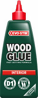 2 x Evo-Stik Resin W Extra Fast Setting Interior Wood Adhesive 500ml