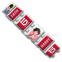 Official 1D One Direction White Expandable Bracelet Wrist Band Gift