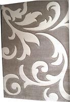 Tappeto moderno cm 140 x cm 200  LAMBADA colore BEIGE