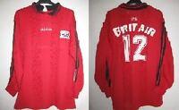 Maillot EAG Guingamp Adidas Vintage Porté n°12 Brit Air BE - XL