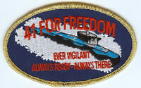 41 for Freedom BC Patch Cat No c6747