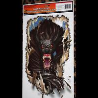 Goth Halloween Horror Prop-WEREWOLF-Floor Wall Grabber Monster Window Decoration