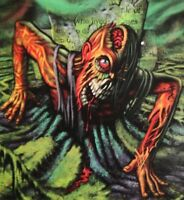 Horror Cling-ZOMBIE GHOUL GRAVE-Floor Wall Grabber Sticker Halloween Decoration
